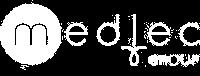 Medlec Logo White Small