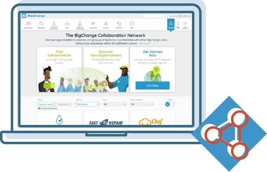 Network with BigChange