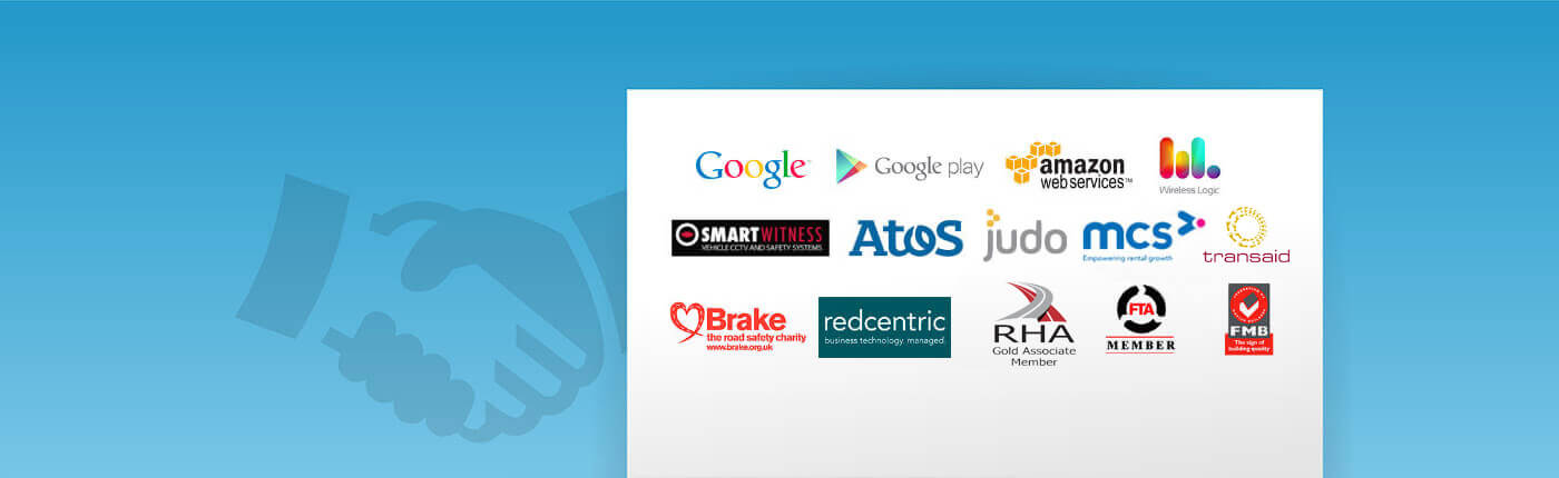 A banner featuring a range of partners Big Change work alongside