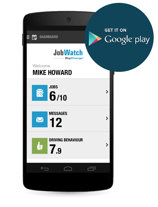 Application mobile Android disponible sur la plateforme Google Play