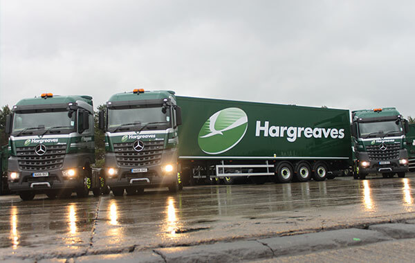 Hargreaves Fleet of vehicles