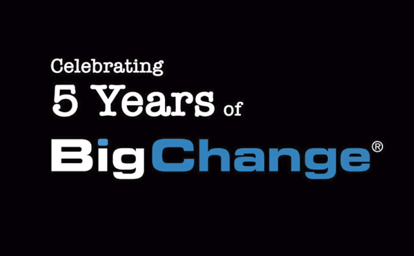 Celebrating 5 Years of BigChange
