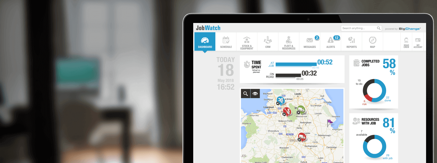 The paperless way to plan, manage, schedule and track your mobile workforce
