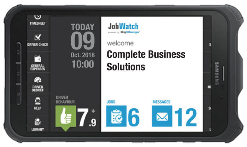 Job watch app