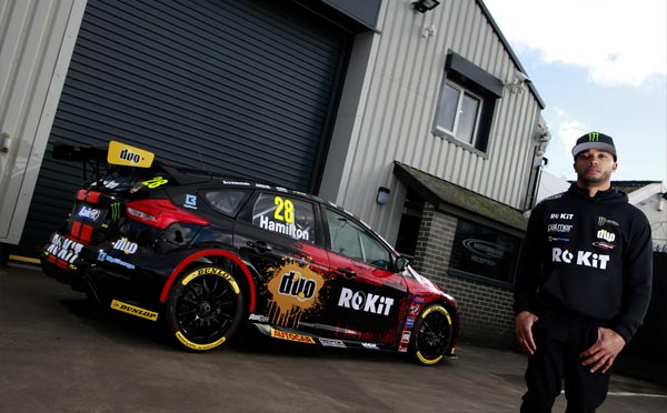 Hamilton returns to the British Touring Car Championship