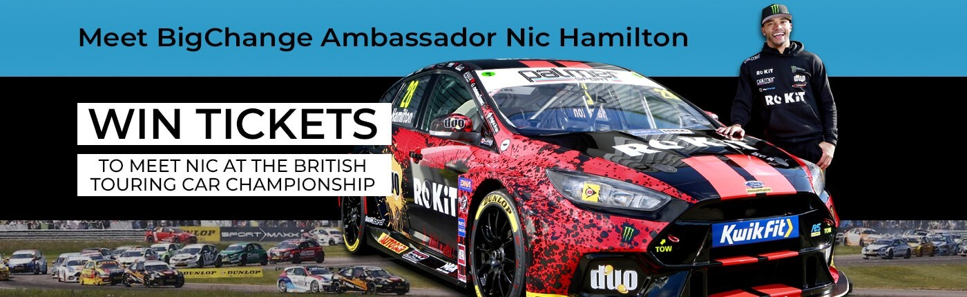 Win Tickets to meet Nic at the British Touring car cahmpionship