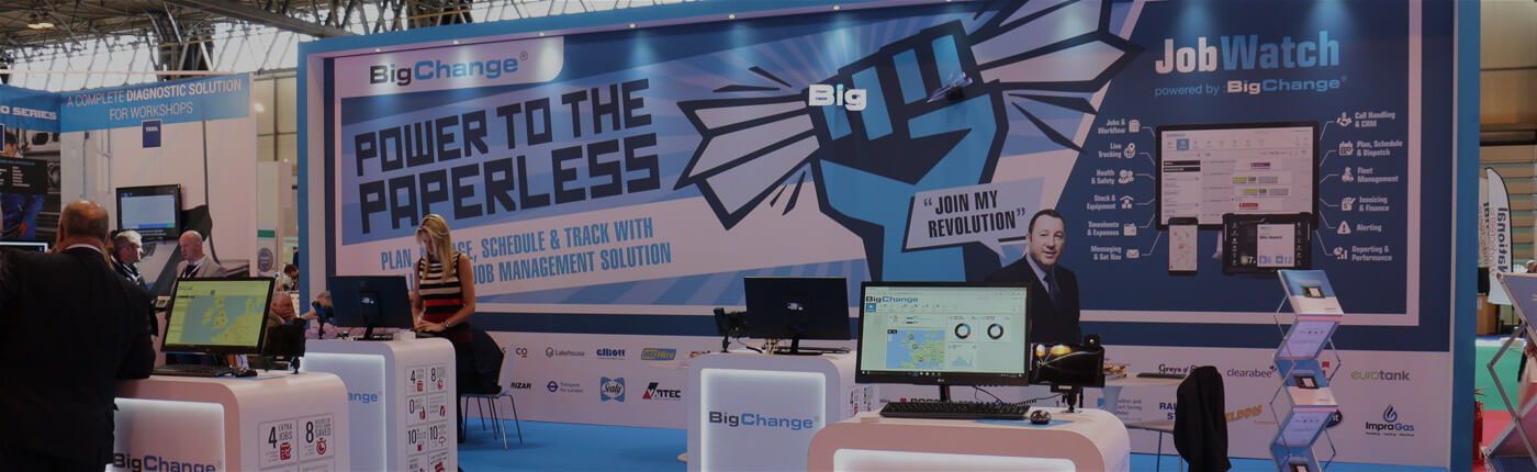 BigChange at an event