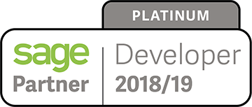 Sage Platinum Developer Partner 2018 - 2019