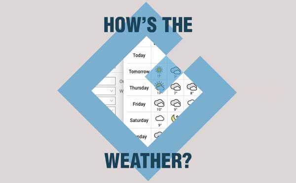 Job Weather Forecast