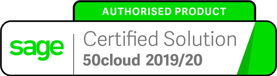 Sage Authorised Product Certified Solution 2019 - 2020