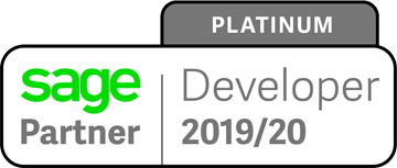 Sage Platinum Developer Partner 2019 - 2020
