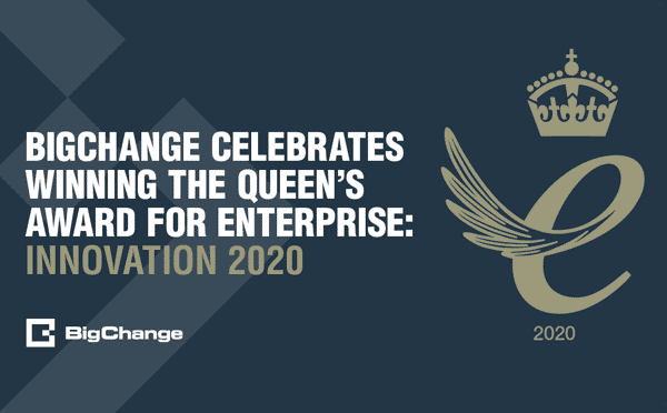 BigChange Celebrates winning the queen's award for enterprise