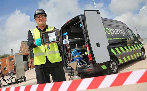 BigChange Mobile Tech Gives Europump's Commercial Transport Business a £100k Boost