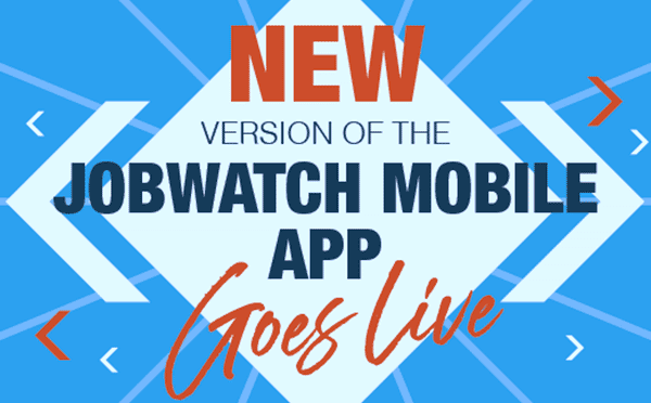 JobWatch new features