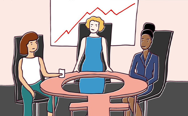 How many women are on your leadership team