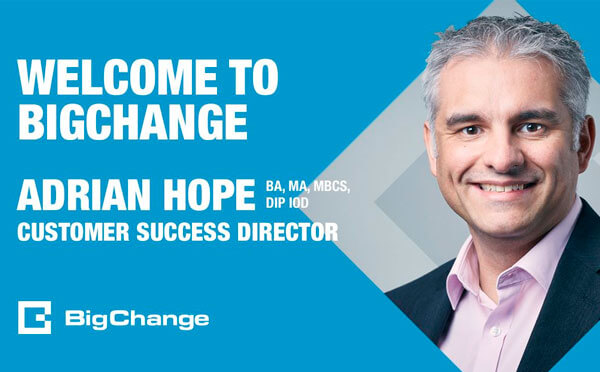 Adrian Hope joins BigChange