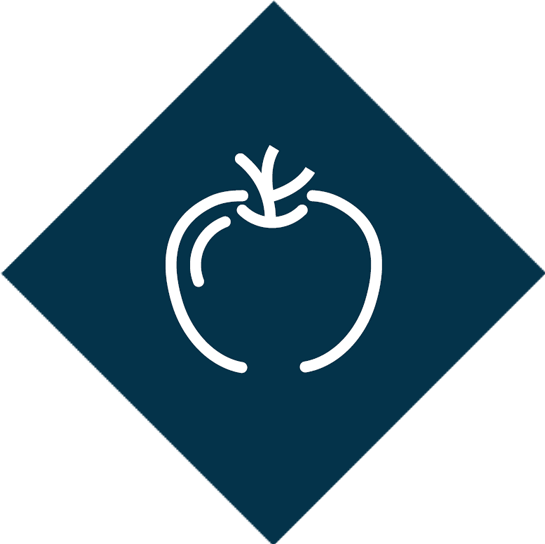 Local fruit delivered weekly to the office logo