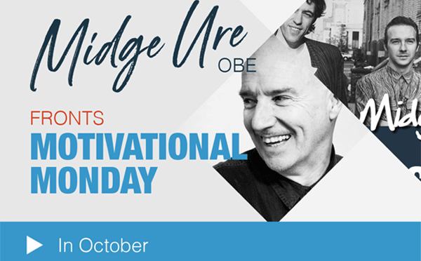 Midge Ure - Motivational Monday