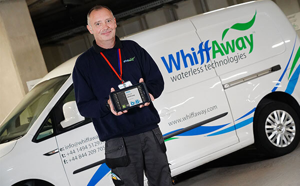 WhiffAway Waterless technologies