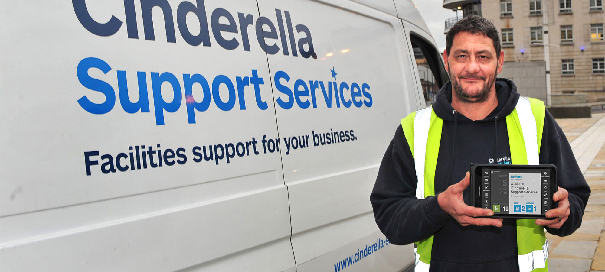 Cinderrella Support Services using BigChange