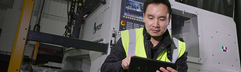 Ficep using BigChange to help their manufacturing business