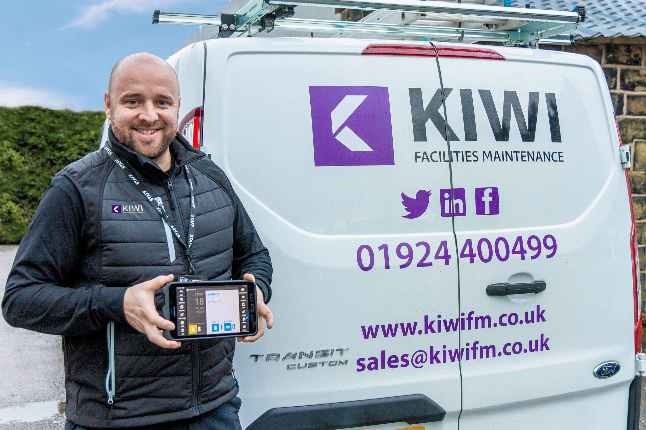 Facilities maintenance company Kiwi FM using BigChange to manage their field operations