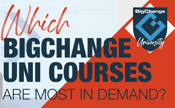 Five BigChange University courses to boost productivity with JobWatch
