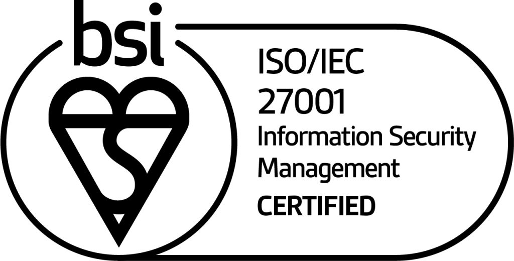 Mark of trust certified ISOIEC 27001 information security management