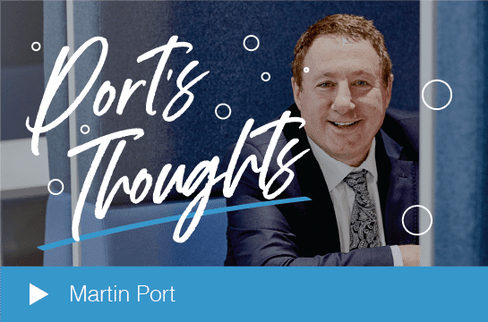 Martin Port's Thoughts