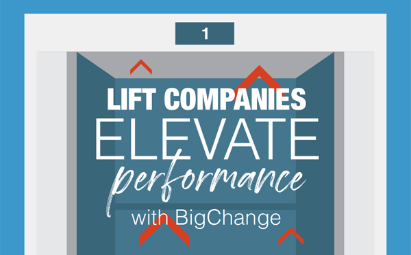 BigChange Lifts Elevate performance