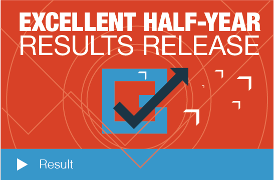 Excellent Half Year Results