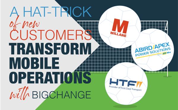 Hat-trick of transformations
