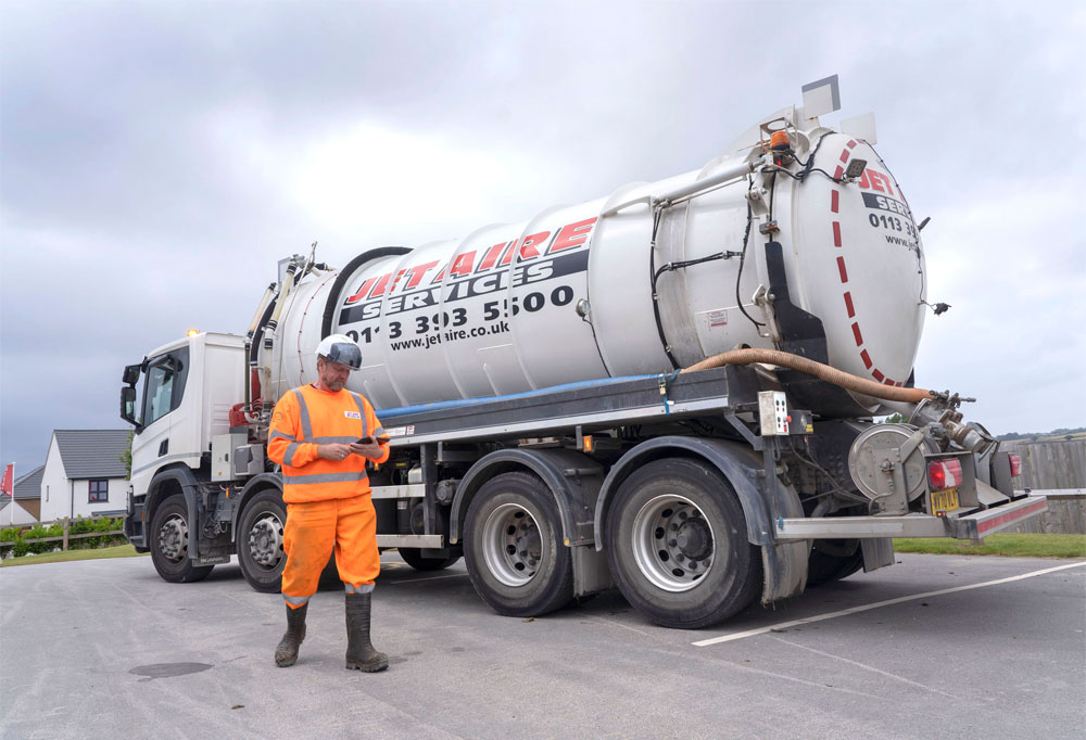 Jet Aire Lorry